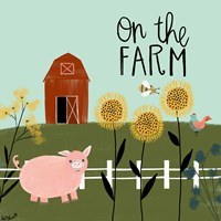 On the Farm Fine Art Print
