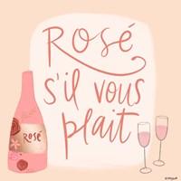 Rose s'il Vous Plait Fine Art Print
