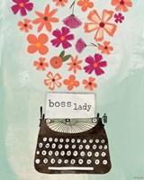 Boss Lady Fine Art Print