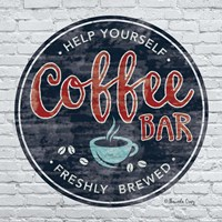 Coffee Bar Fine Art Print