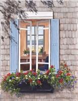 Beach House Window Fine Art Print