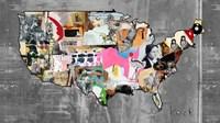 US Map II Fine Art Print