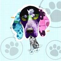 Bluetick Coonhound Fine Art Print