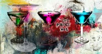 Martini Glasses Fine Art Print