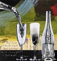 Champagne and Glasses Fine Art Print