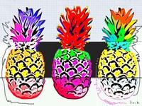 Pineapples I Fine Art Print
