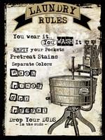 Laundry III Fine Art Print