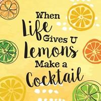 Make a Cocktail Fine Art Print