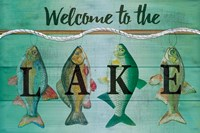 Welcome to the Lake Fine Art Print