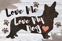 Love Me, Love My Dog Fine Art Print