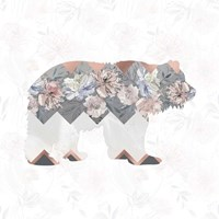Square Bear Fine Art Print