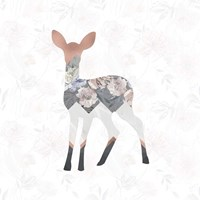 Square Deer Fine Art Print
