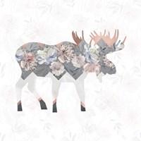 Square Moose Fine Art Print
