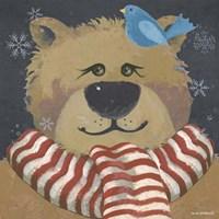 Christmas Bear Fine Art Print