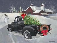 Old Truck and Barn Fine Art Print