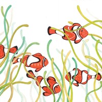 Orange Fish Fine Art Print