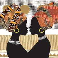 African Women Fine Art Print