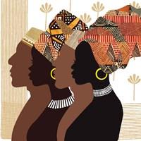 African Men and Women Fine Art Print