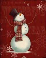 Snowman I Fine Art Print