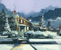 Holiday House Fine Art Print