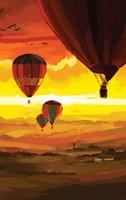 Hot Air Balloons Fine Art Print