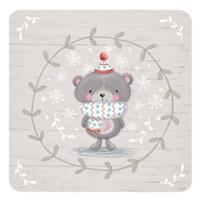 Winter Baby Bear Fine Art Print