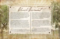 Church Covenant Fine Art Print
