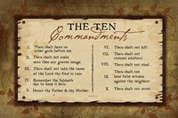 10 Commandments II Fine Art Print