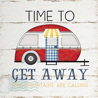 Time to Get Away Fine Art Print