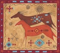 Desert Horses Fine Art Print