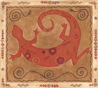 Desert Lizard Fine Art Print