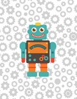 Robot III Fine Art Print