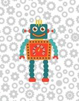 Robot VI Framed Print