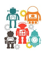 Robot Combo Fine Art Print