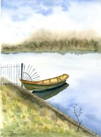 Boat on the Water Fine Art Print