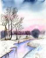 Winter Scene II Fine Art Print