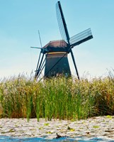 Windmill I Fine Art Print