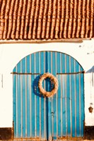 Blue Doors Fine Art Print