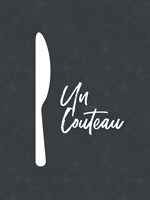 French Knife Fine Art Print