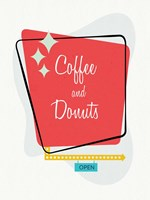Coffee and Donuts Fine Art Print