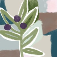 Olive Abstract Fine Art Print