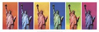 Pop Art Liberty Fine Art Print