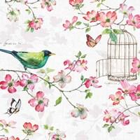 Dogwood Garden IV Fine Art Print