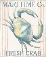 Floursack Nautical III Framed Print
