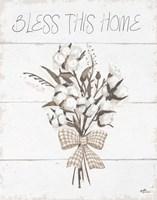 Blessed II Neutral Fine Art Print