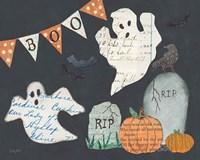 Halloween Whimsy III Fine Art Print