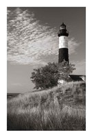 Big Sable Point Lighthouse II BW Fine Art Print