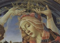 Madonna of the Magnificat (detail) Fine Art Print
