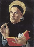 St. Thomas Aquinas Fine Art Print