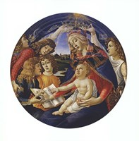 Madonna of the Magnificat Fine Art Print